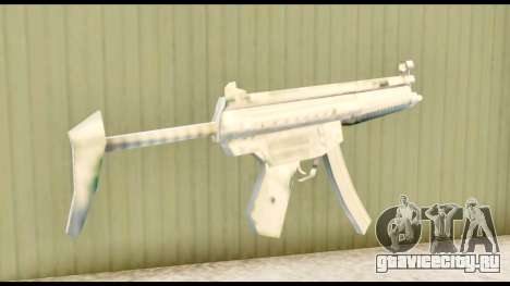 MP5 с прикладом для GTA San Andreas второй скриншот