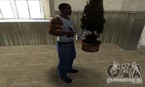 M4 Asiimov для GTA San Andreas третий скриншот