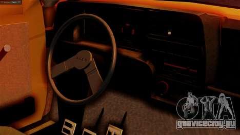 Fiat 147 Al Piso для GTA San Andreas вид справа
