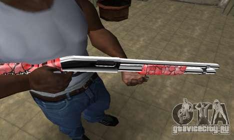 Stone Shotgun для GTA San Andreas