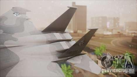 F-15S MTD Grabacr (8492nd) Ace Combat 5 для GTA San Andreas вид сзади слева