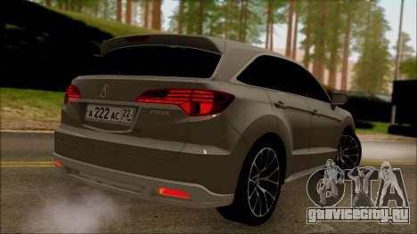 Acura RDX 2009 для GTA San Andreas вид слева