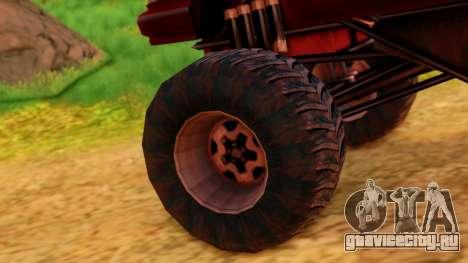 Premier Monster для GTA San Andreas вид сзади слева
