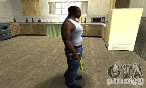 Sponge Bob Deagle для GTA San Andreas третий скриншот