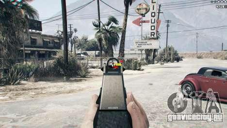Combat HUD 1.0.2 для GTA 5 второй скриншот
