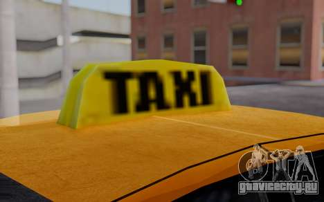Ford Crown Victoria Taxi для GTA San Andreas вид справа