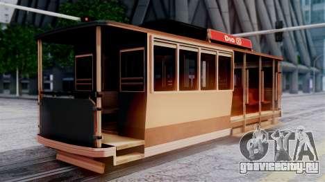 New Tram для GTA San Andreas вид слева