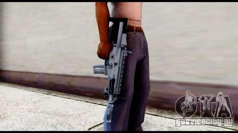 MK16 PDW Standart Quality v2 для GTA San Andreas третий скриншот