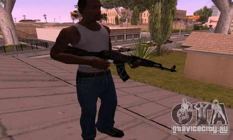 AK-47 Повстанец для GTA San Andreas