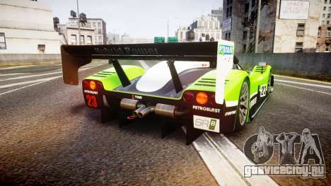 Radical SR8 RX 2011 [23] для GTA 4 вид сзади слева