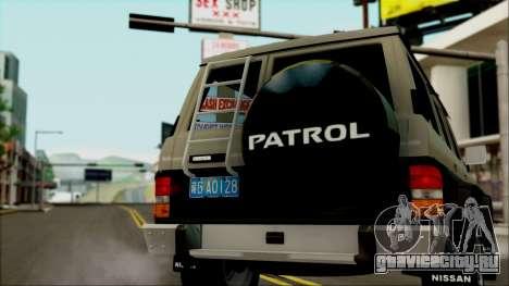 Nissan Patrol Y60 для GTA San Andreas вид слева