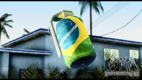 Brasileiro Grenade для GTA San Andreas третий скриншот