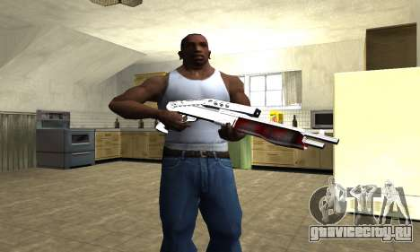 Blood Combat Shotgun для GTA San Andreas третий скриншот
