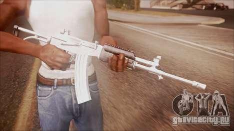 Galil AR v2 from Battlefield Hardline для GTA San Andreas третий скриншот