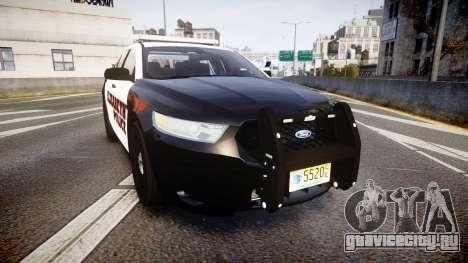 Ford Taurus 2010 Elizabeth Police [ELS] для GTA 4