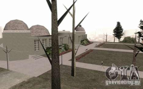 Деревья без листьев для GTA San Andreas третий скриншот