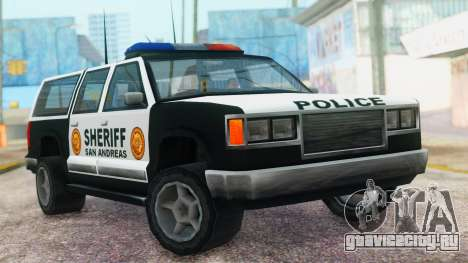 Police 4-door Yosemite для GTA San Andreas