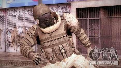 Armored Soldier для GTA San Andreas