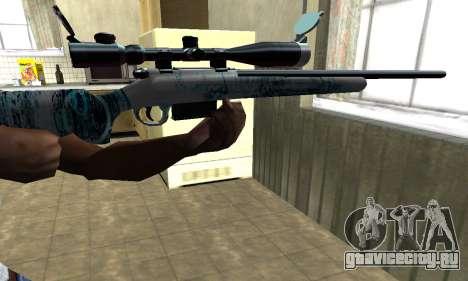 Mini Water Time Sniper Rifle для GTA San Andreas второй скриншот