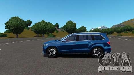 Mercedes-Benz GL 63 AMG для GTA 4 вид сбоку