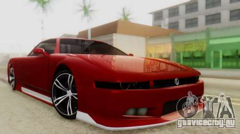 Infernus BMW Revolution with Plate для GTA San Andreas