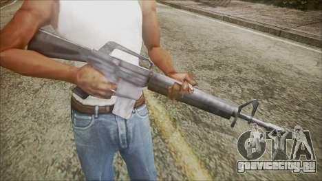 M16 для GTA San Andreas третий скриншот