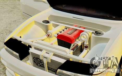 Nissan Silvia S13 для GTA San Andreas вид сзади