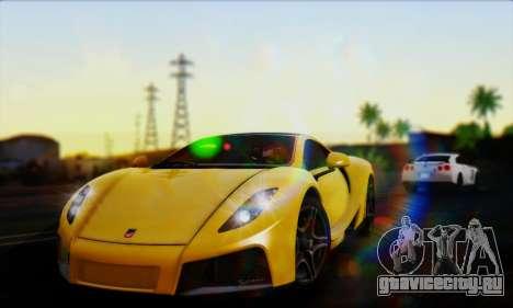 Smooth Realistic Graphics ENB 3.0 для GTA San Andreas двенадцатый скриншот
