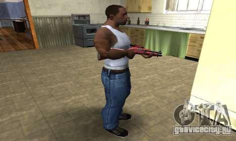 Blood Shotgun для GTA San Andreas третий скриншот