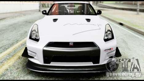 Nissan GT-R R35 2012 для GTA San Andreas вид сбоку