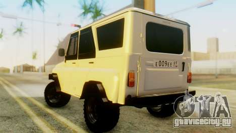 УАЗ Хантер для GTA San Andreas вид слева