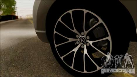 Acura RDX 2009 для GTA San Andreas вид сзади