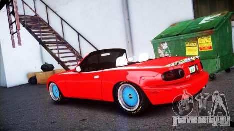 Mazda MX-5 modified [EPM] для GTA 4 вид слева