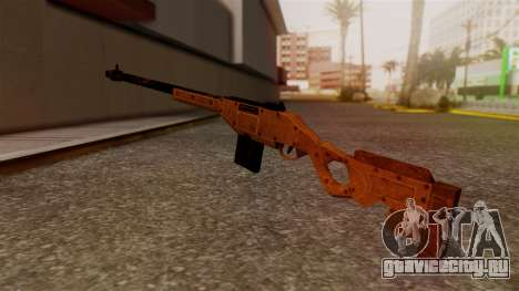 A Police Marksman Rifle для GTA San Andreas второй скриншот