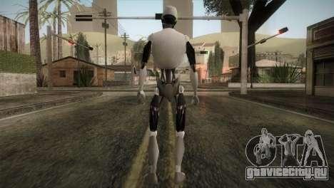 I am a Robot Skin для GTA San Andreas третий скриншот