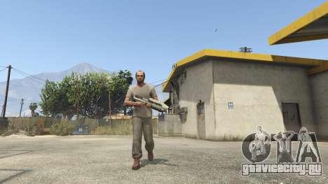 Halo UNSC: Assault Rifle для GTA 5 второй скриншот