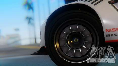 Nissan GT-R GT1 Sumo для GTA San Andreas вид сзади слева