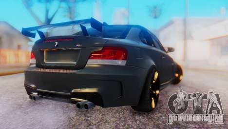 BMW M1 Tuned для GTA San Andreas вид слева