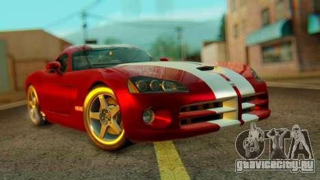 Dodge Viper SRT10 для GTA San Andreas