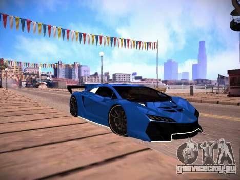 T.0 Secret Enb для GTA San Andreas восьмой скриншот