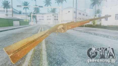 Red Dead Redemption Rifle для GTA San Andreas второй скриншот