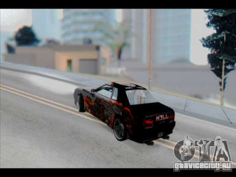 Elegy Lumus для GTA San Andreas двигатель