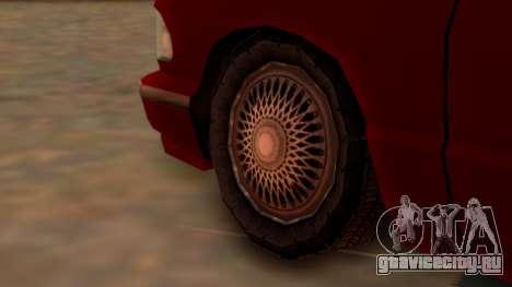 Premier Towtruck для GTA San Andreas вид сзади слева