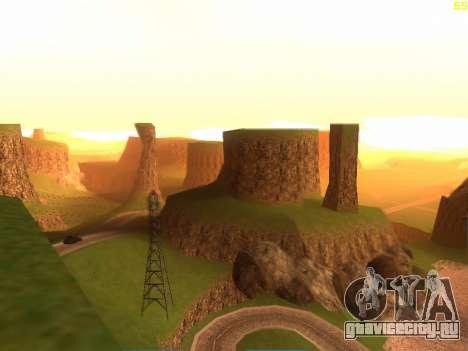 Зелёная пустыня Лас Вентурас v2.0 для GTA San Andreas