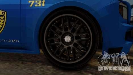Hunter Citizen v2 IVF для GTA San Andreas вид сзади слева