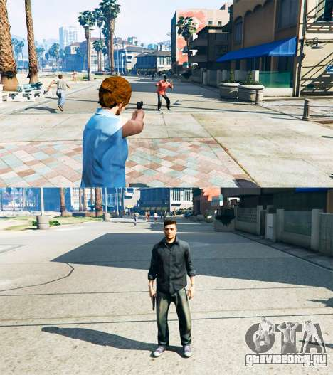 Ped Transform v0.2 для GTA 5 третий скриншот