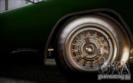 GTA 5 Vapid Peyote IVF для GTA San Andreas вид сзади слева