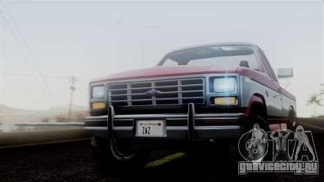 Ford F-150 Ranger 1984 для GTA San Andreas вид сзади слева