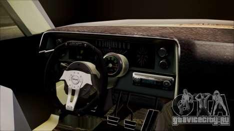 Ford Falcon 3.0 для GTA San Andreas вид сзади слева