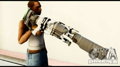 Rocket Launcher from Crysis 2 для GTA San Andreas третий скриншот